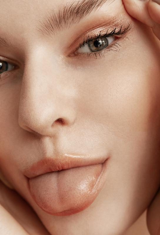 Feisty Face -Acrylglasbild