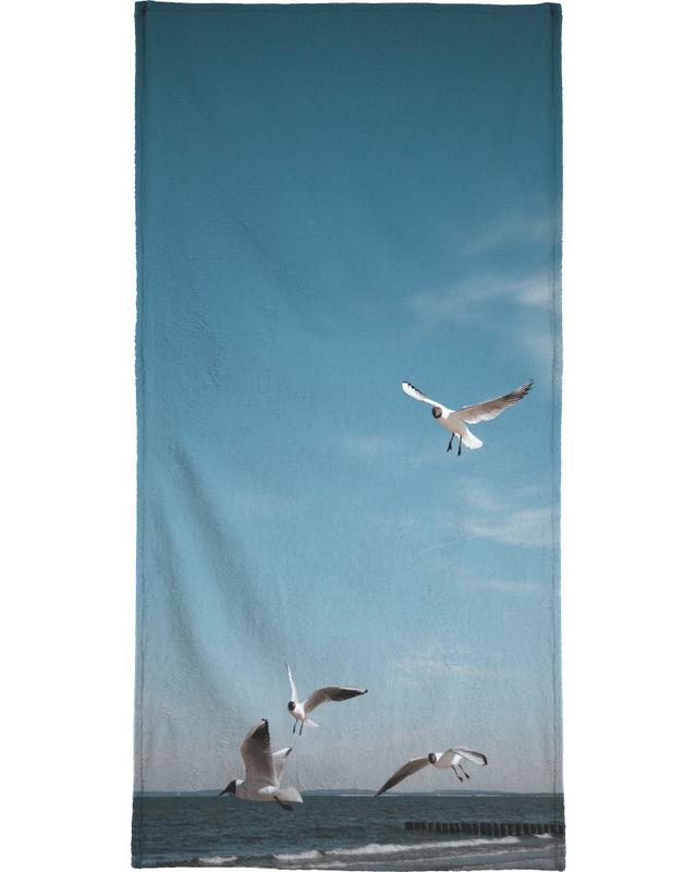 Seagulls IV Beach Towel