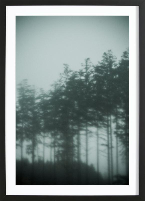 Pine Trees Framed Print