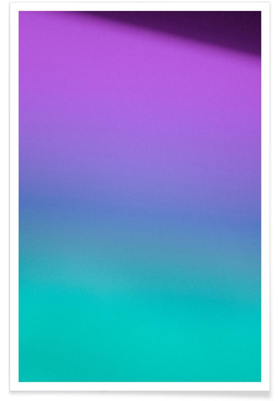 Prism Violet Turquoise Poster