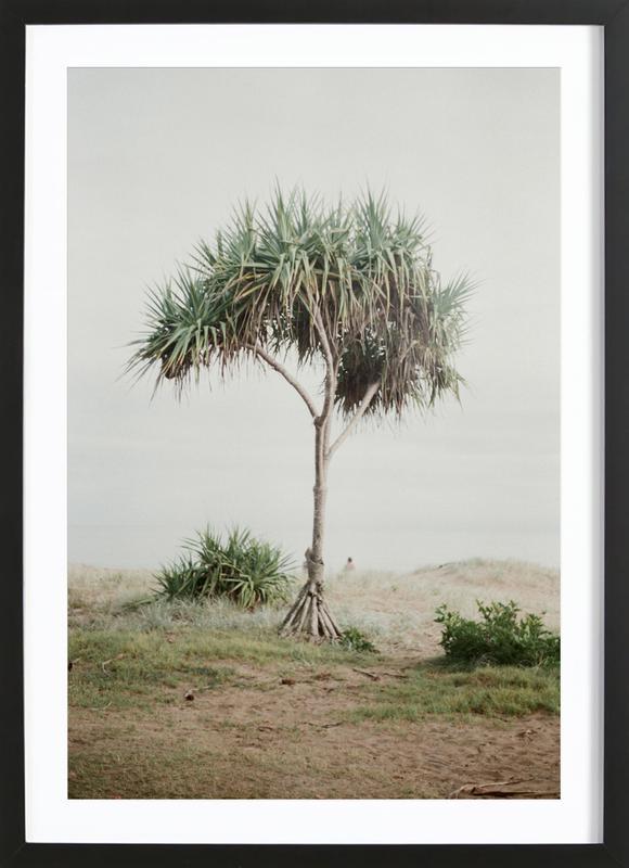 Australia -Bild mit Holzrahmen