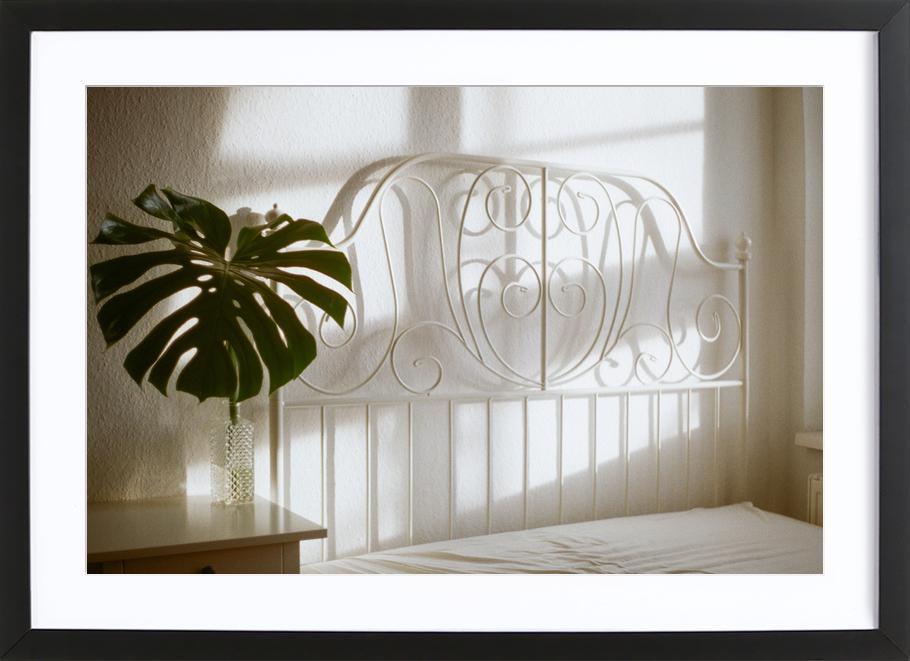 Still -Bild mit Holzrahmen
