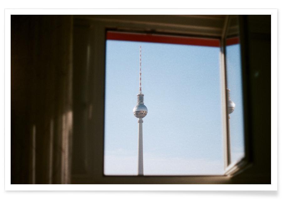 Living in Berlin -Poster