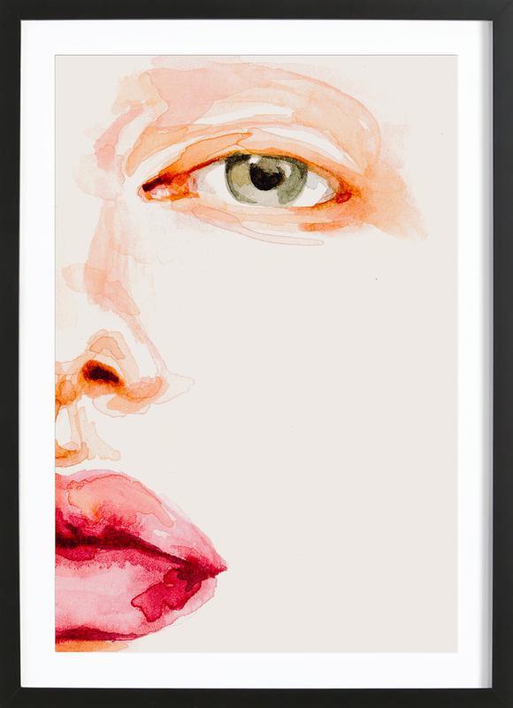 Tension Framed Print