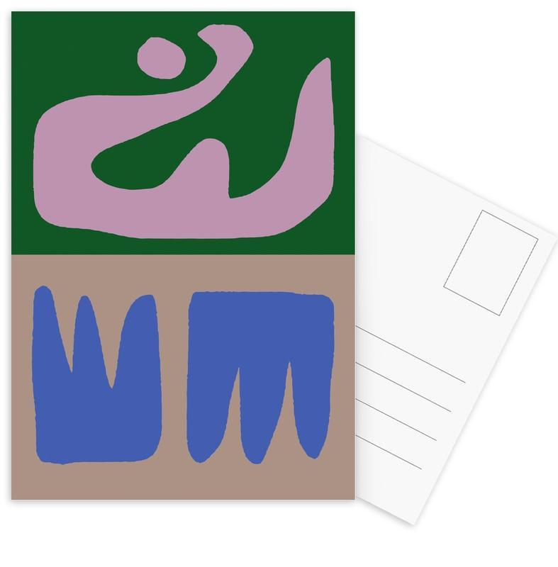 Thinking Maybes Postcard Set