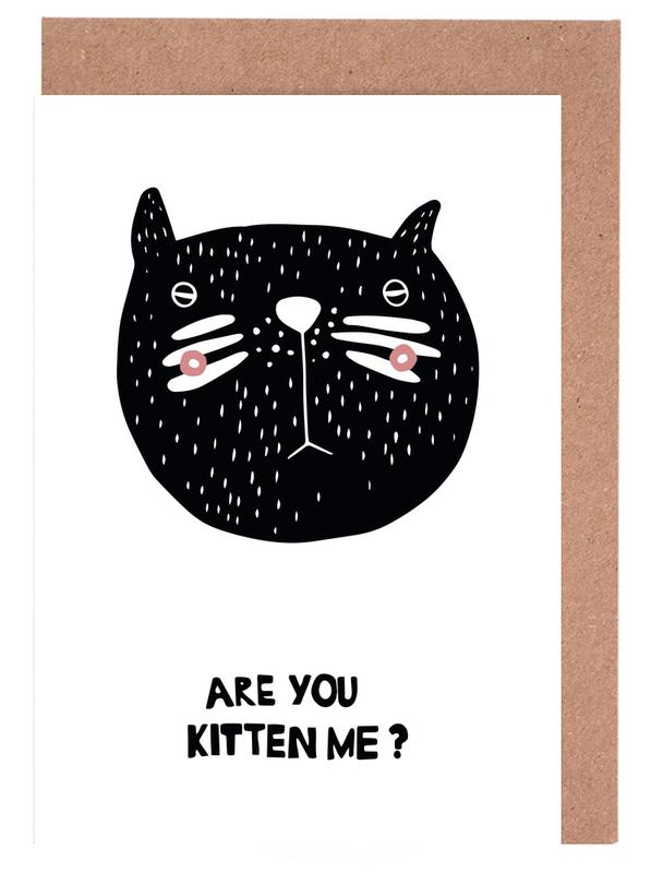 Are You Kitten Me? Greeting Card Set