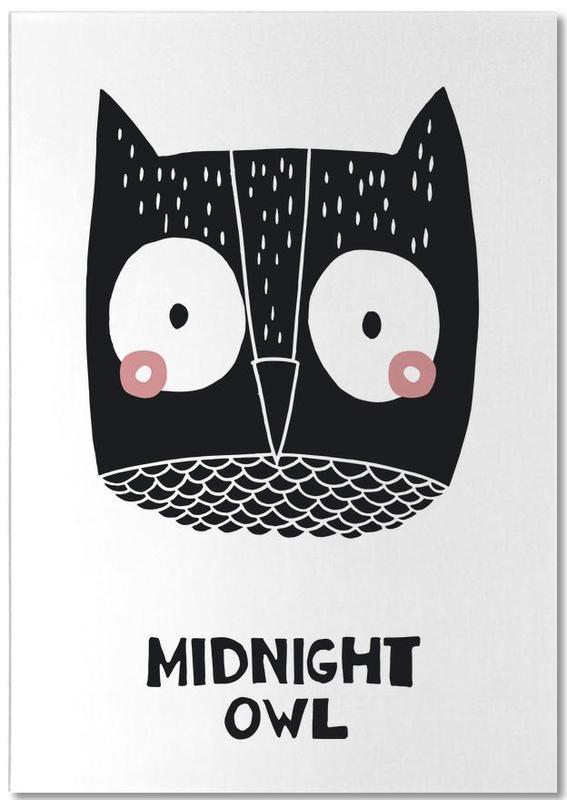Midnight Owl Notepad