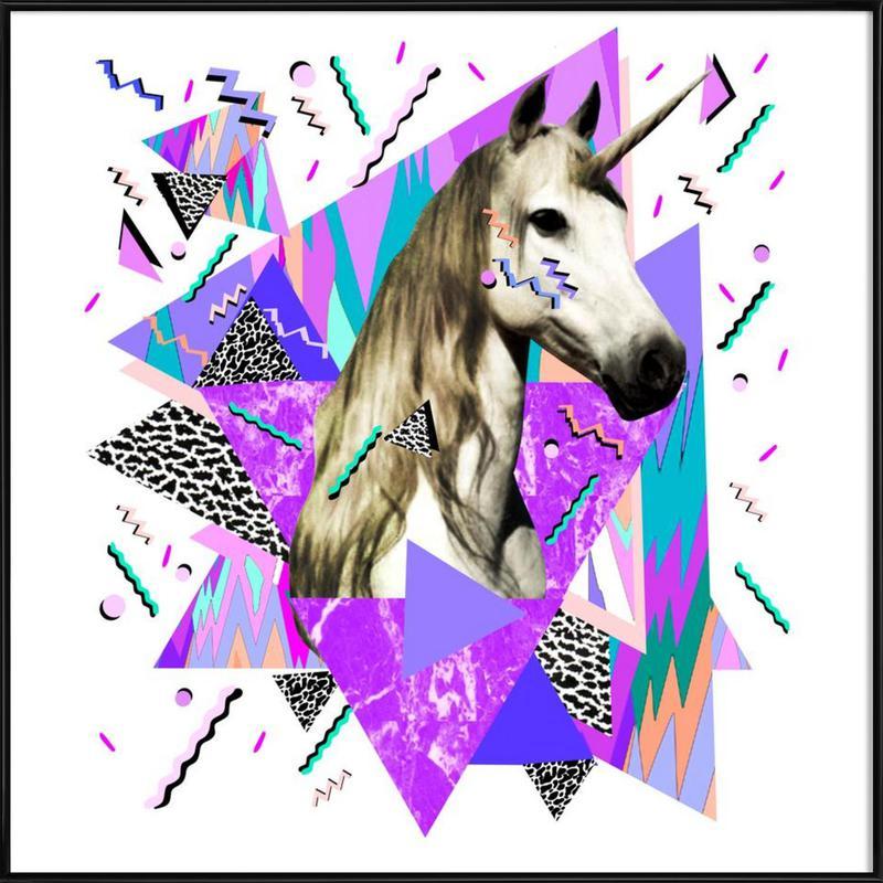 Acid Wavves Framed Poster