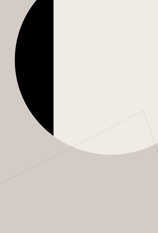Black Side Aluminium Print