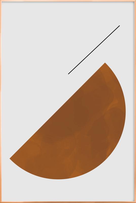Half Cookie Poster in Aluminium Frame