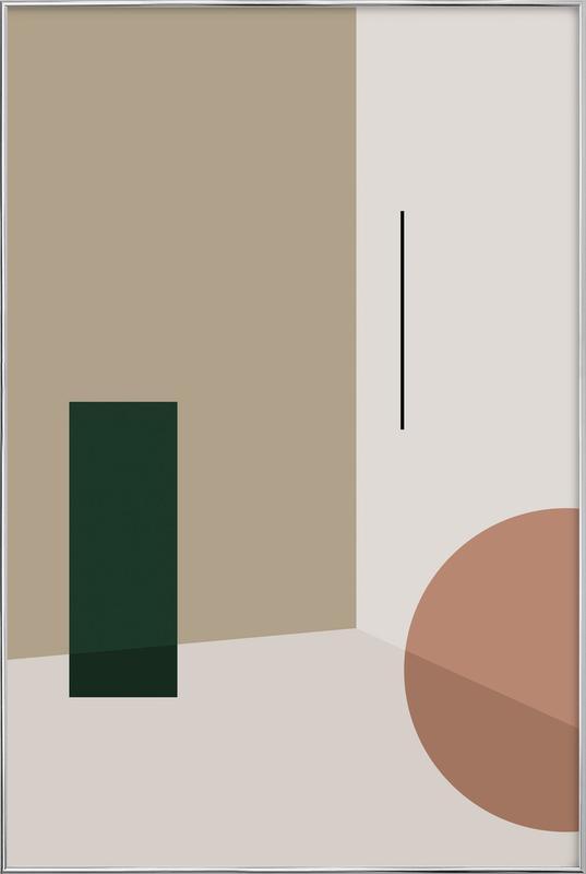 Separated 3 -Poster im Alurahmen