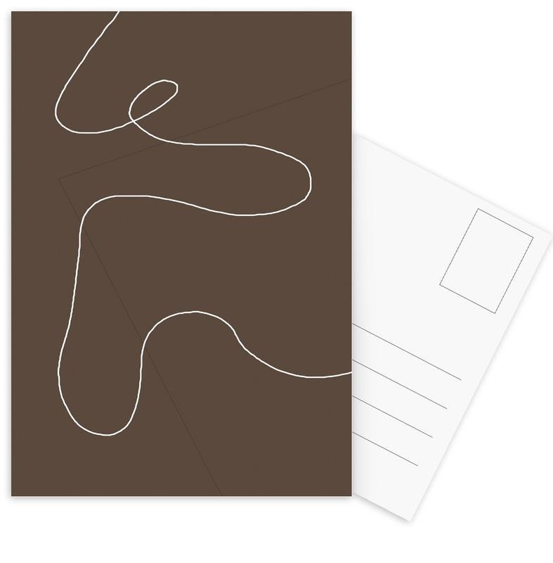 Brownie -Postkartenset