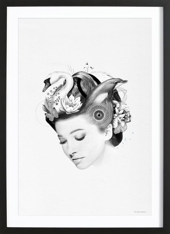 Wellness Beauty Framed Print