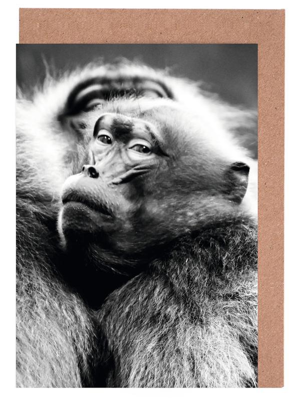 Monkey Business -Grußkarten-Set