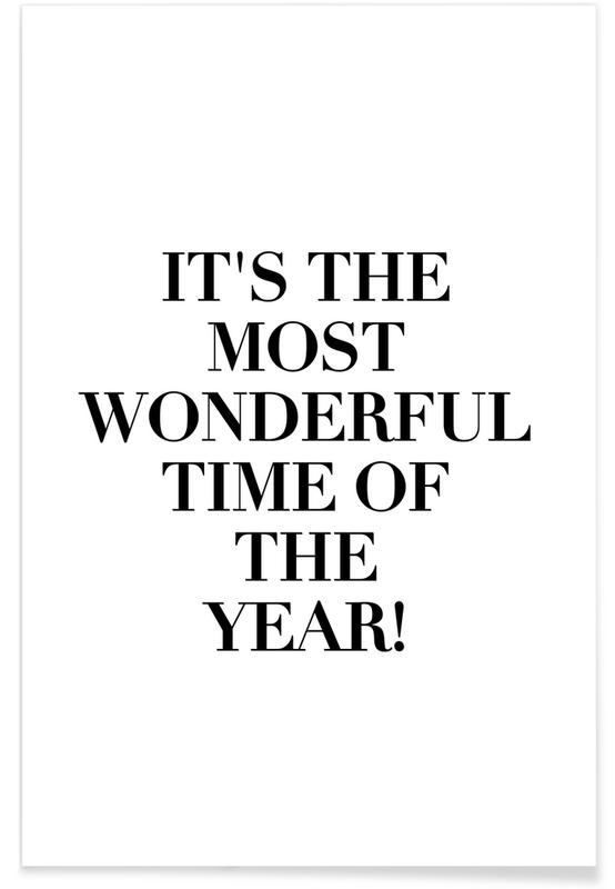 Wonderful Time Of The Year -Poster