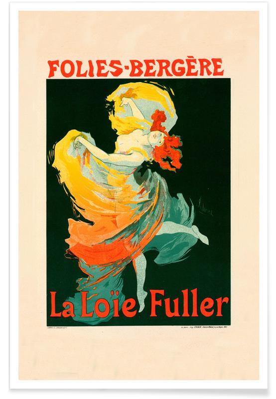 Folies-Berg - Jules Chéret -Poster