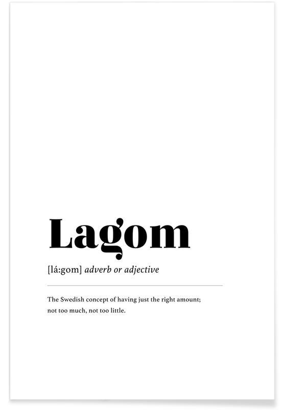 Lagom -Poster