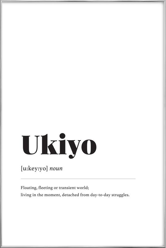 Ukiyo Poster in Aluminium Frame