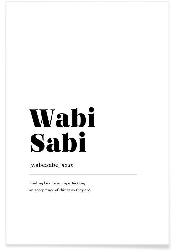 Wabi-Sabi -Poster