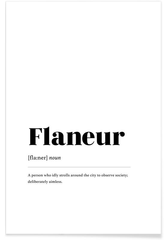Flaneur Poster