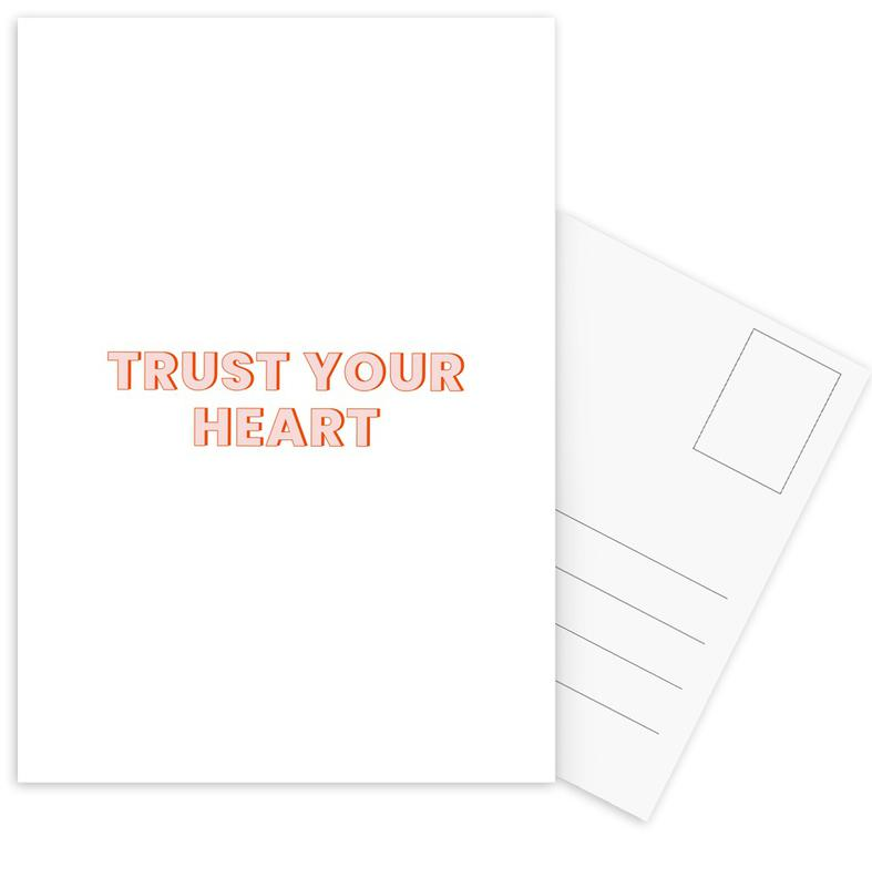 Trust Your Heart cartes postales