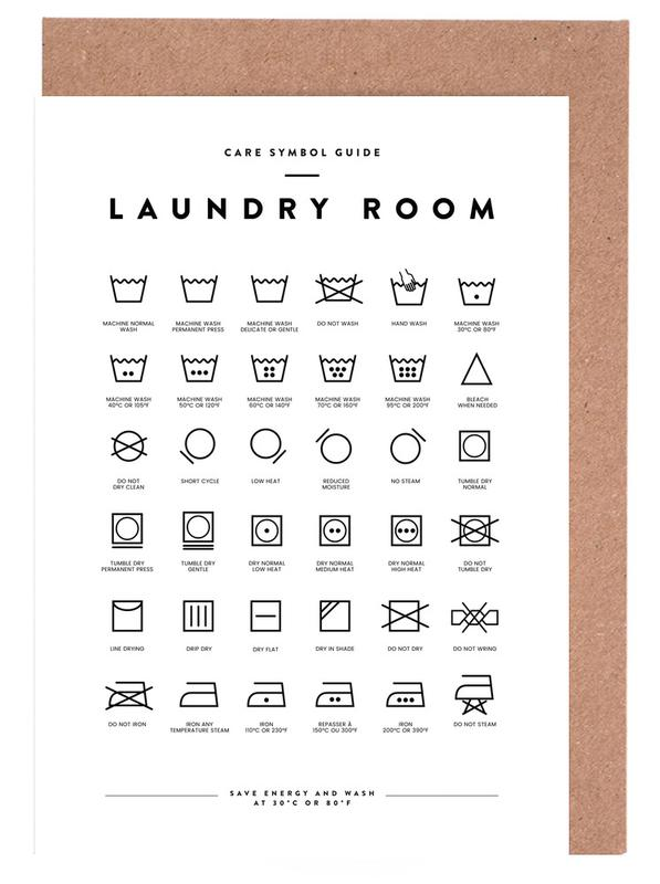Laundry Greeting Card Set