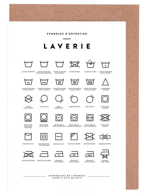 Laverie Greeting Card Set