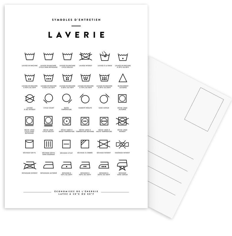 Laverie Postcard Set