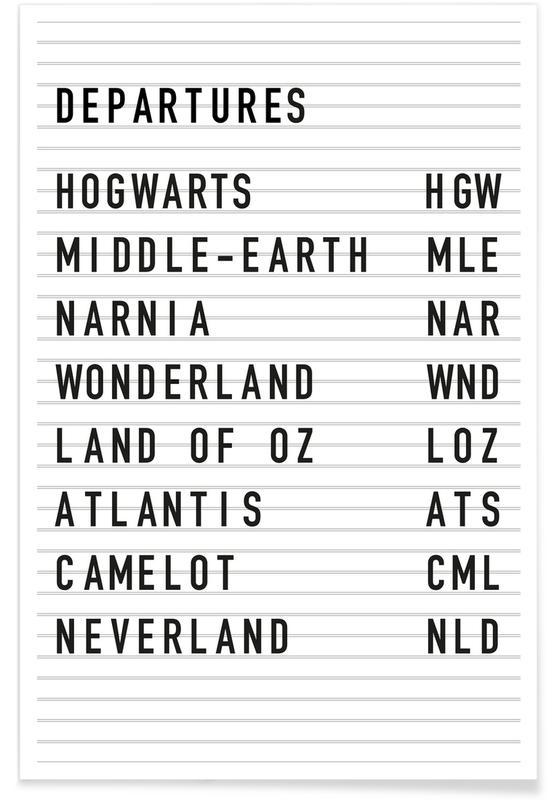 Fantasy Destinations Plakat
