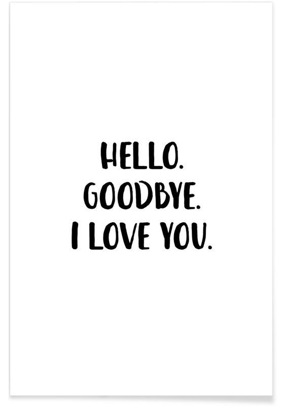 Hello Goodbye Poster