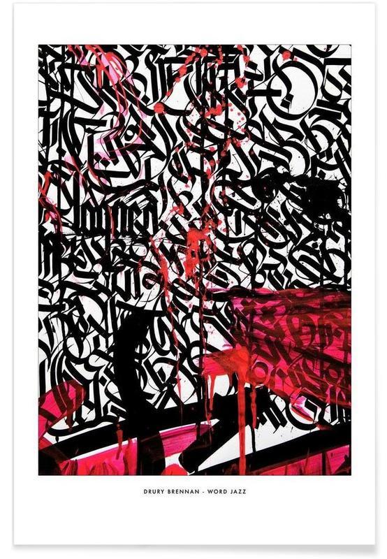 Word Jazz -Poster