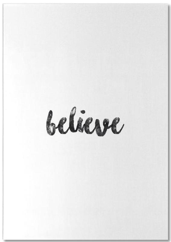 Believe bloc-notes