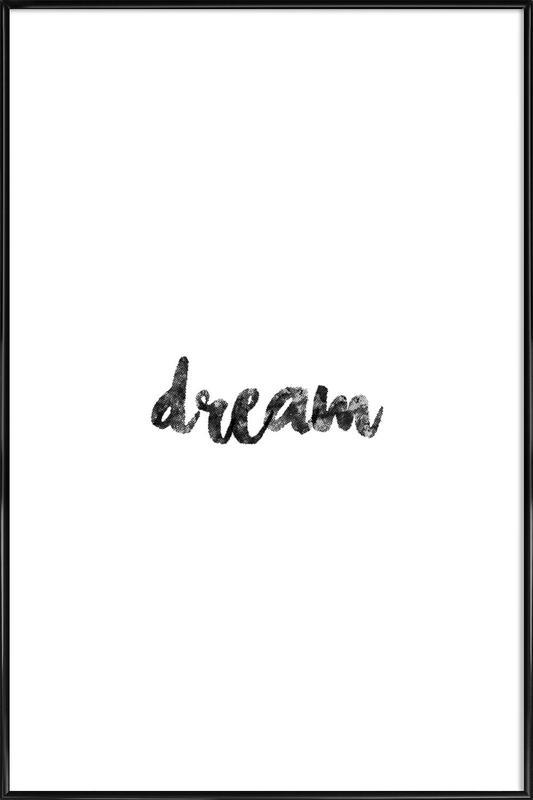 Dream -Bild mit Kunststoffrahmen