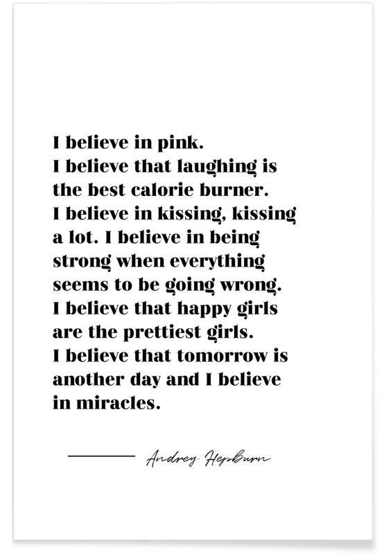 Believe in Miracles Plakat