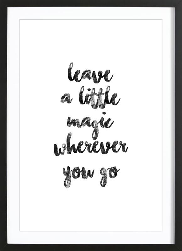 A Little Magic Framed Print