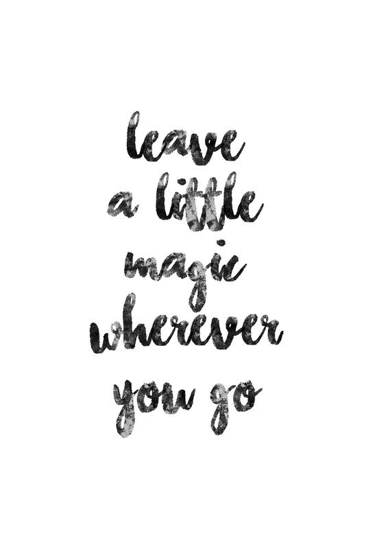 A Little Magic -Alubild