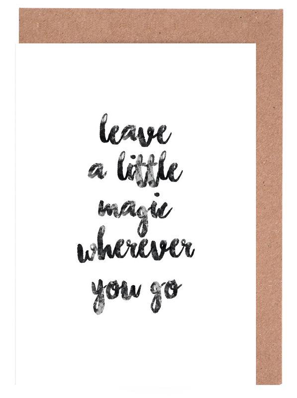 A Little Magic cartes de vœux