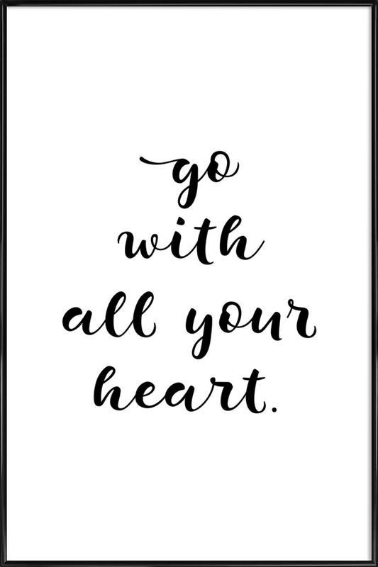 All Your Heart affiche encadrée