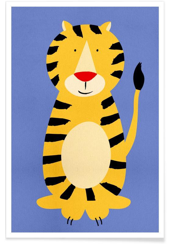 Friendly Tiger póster
