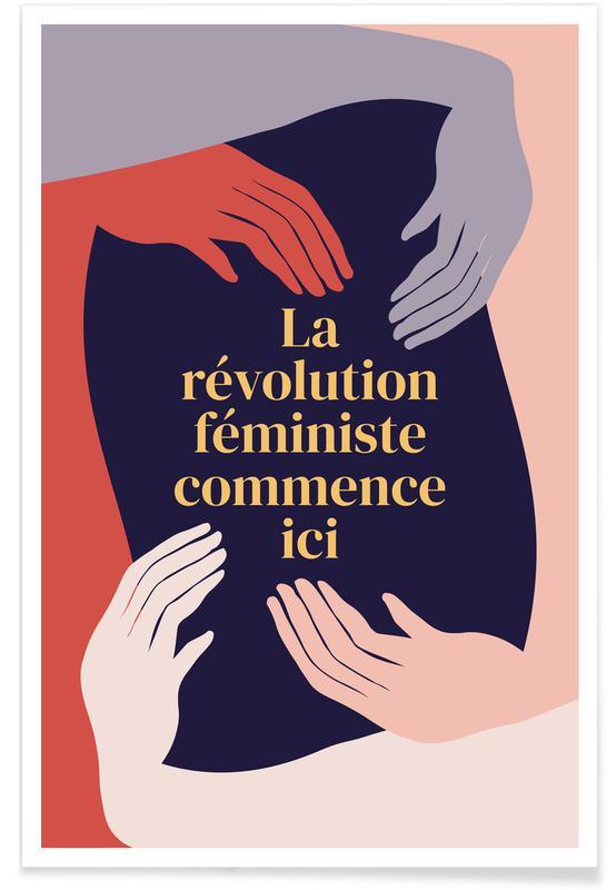 La Révolution Féministe Commence Ici II Poster