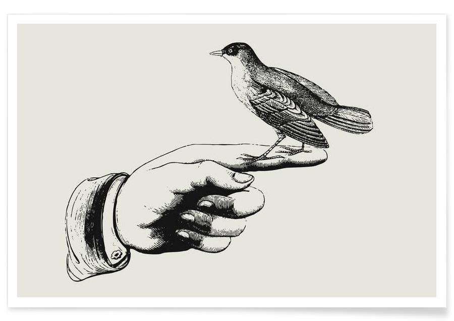 Bird in the hand affiche