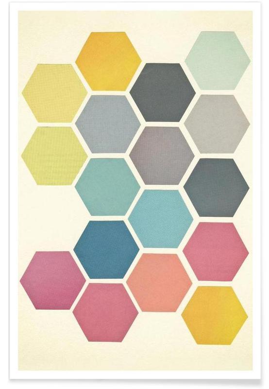 Honeycomb II Poster