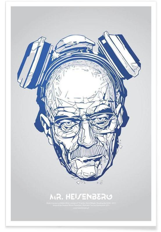 Mr Heisenberg affiche