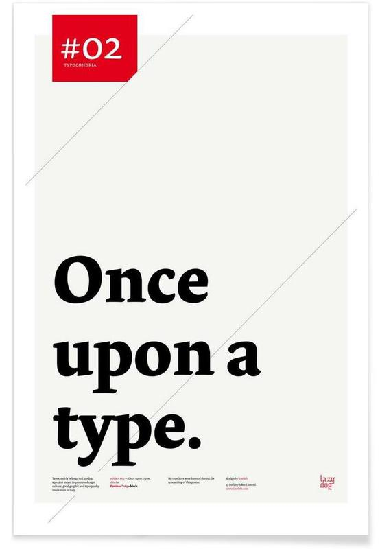 Once upon a type -Poster