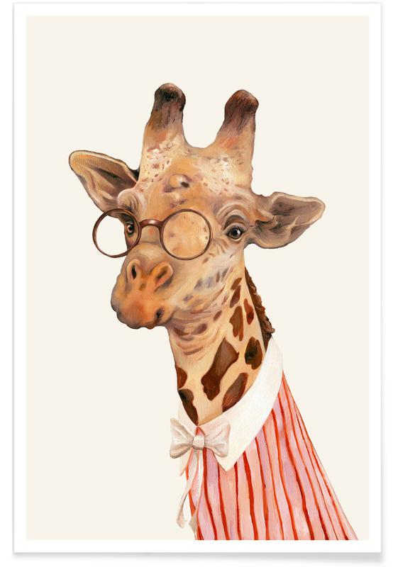 Ms Giraffe Poster