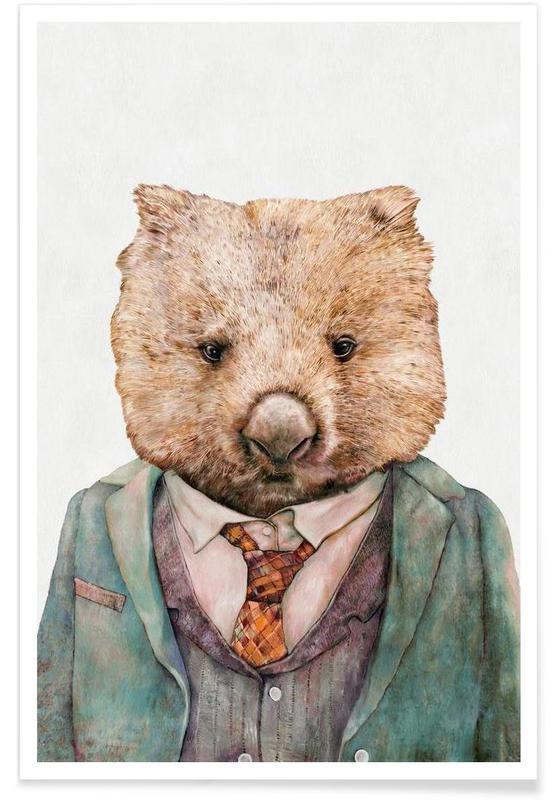 Wombat -Poster