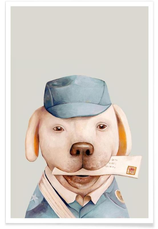 Delivery Dog poster