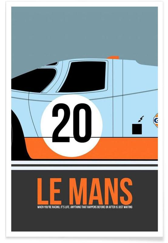 Le Mans Poster 2 Poster