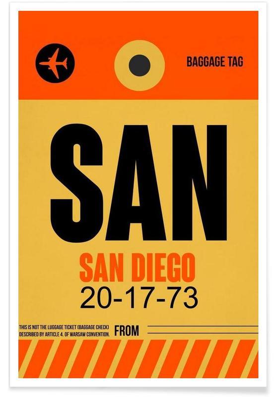 SAN-San Diego Poster
