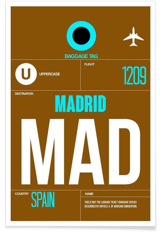 MAD-Madrid -Poster
